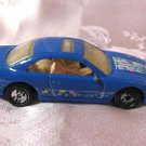 Blue Diecast Toy Car Sunroof By Hotwheels 1990