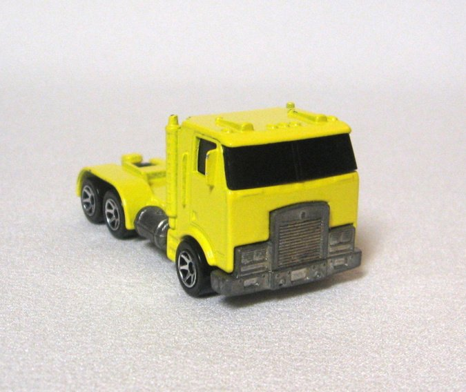 Yellow Truck Diecast By Hotwheel 1986