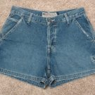 Ladies Teens Blue Jeans Shorts American Eagle Outfitters Size 6