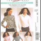 McCall's Palmer Pletsch The Perfect Fit Blouse Sewing Pattern #M5630 Sizes 8 to 14 Misses