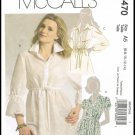 McCall's Sewing Pattern No. M5470 Misses Tunics Tops Sizes 6 8 10 12 14