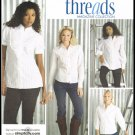 Simplicity Sewing Pattern No. 3684 Misses Shirts In Two Lengths Sizes 8 10 12 14 16