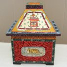 Hand Painted All Purpose Decorative Wooden Box Display Piece Circus