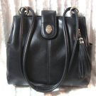 Black Designer Purse Handbag Rosetti New York