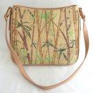 Designer Marlo Handbag Woven Bamboo Purse