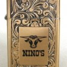 Collectible Gold Lighter Made By Park USA Nino's Vintage