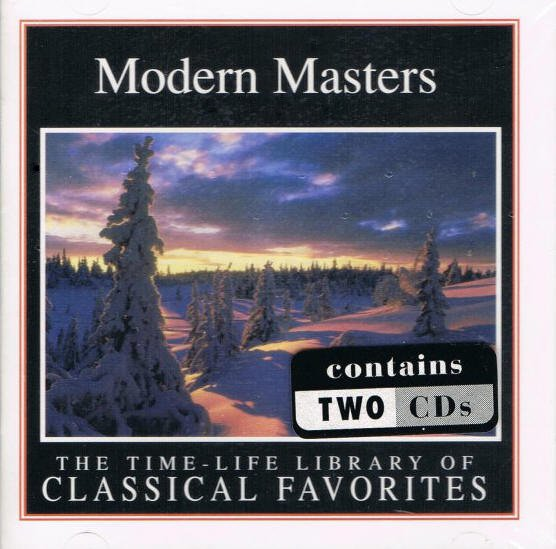 Modern Masters Time Life Library Of Classical Favorites Music CDs
