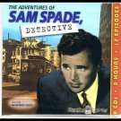 The Adventures Of Sam Spade Detective Boxed Set 9 Audio CDs 17 Episodes