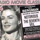 Radio Movie Classics Ingrid Bergman Notorious The Seventh Veil Audio Cassettes
