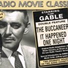 Radio Movie Classics Clark Gable The Buccaneer It Happened One Night Audio Cassettes