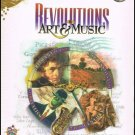 Revolutions In Art & Music CD Rom PC 4 Disc Set