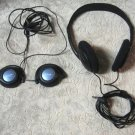 Audio Headphones Philips 2 Pair
