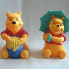 Winnie The Pooh Squeeze Toys Figures 1990's Collectible