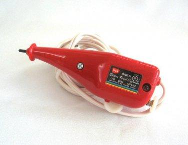 Wen Red Electric Pencil Engraver Model 21 Mongram Write Draw