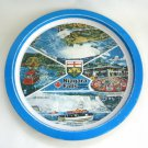 Serving Tin Tray Niagara Falls Ontario Canada Vintage Hong Kong