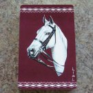 Vintage Fancy White Horse Playing Cards Arrco Full Deck Gilded