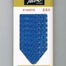 Copen Blue Rick Rack Vintage Sewing Supplies Donahue Decorative Trim Crafts 100% Cotton