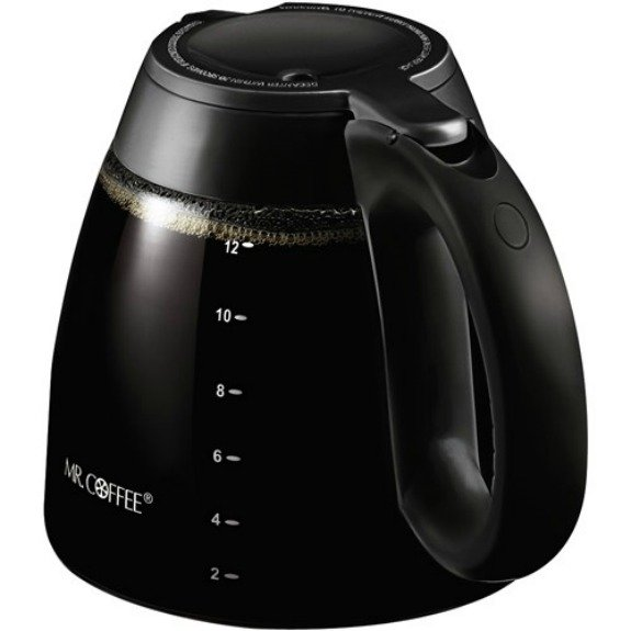12 Cup Coffee Maker Pot Replacement Glass Coffee Carafe For Mr. Coffee Part No. ISD13