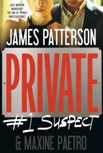 Private #1 Suspect James Patterson & Maxine Paetro Hardcover Book Large Print