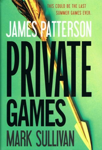 Private Games James Patterson & Mark Sullivan Hardcover Book Large Print