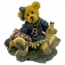 1995 Boyds Bears & Friends Figurine Bailey The Cheerleader Style No. 2268 Retired