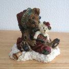 1998 Boyds Bears & Friends Figurine Honey B. Elfberg With Gabriella Believe Retired