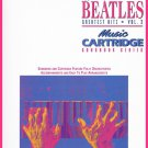 Yamaha The Beatles Greatest Hits Vol. 3 Music Songbook Series Piano Organ