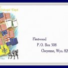 1968 Flags Of American Colonial Days First Day Of Issue Envelope Vintage