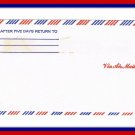 Vintage United States Airmail Envelope 60's