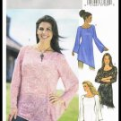 Misses Tunic Blouses Butterick Sewing Pattern No. 3970 Size Large X Large 16 to 22