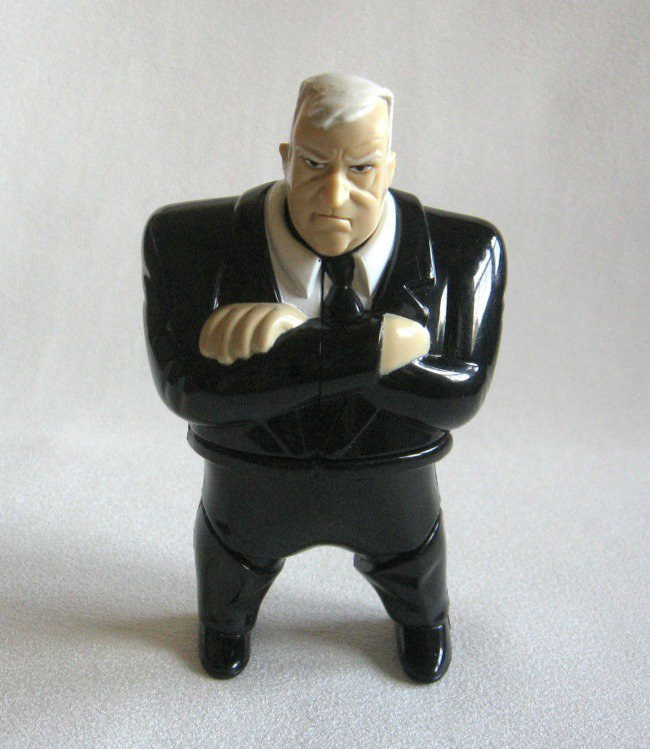 Men In Black MIB Action Figure Character Toy 1998 Spinning Eyeball