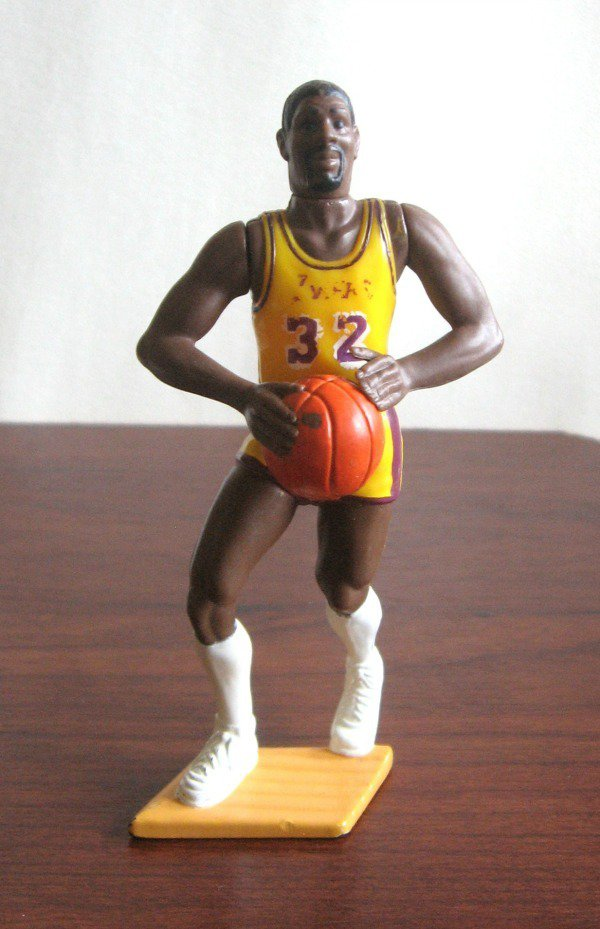 1988 Starting Lineup Earvin Magic Johnson Number 32 Toy Figure Basketball Los Angeles Lakers