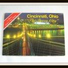 Vintage Photos Deluxe View Folder Booklet Cincinnati Ohio The Queen City