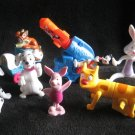 7 Collectible Toys Warner Bros. Animaniacs Wakko Jakko CatDog 101 Dalmations Tigger