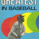 The Greatest in Baseball By Mac Davis Softcover Book Vintage 1977 Babe Ruth Cover
