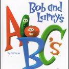 Bob And Larrys ABC's By Phil Vischer VeggieTales Hardcover Book Children 3 to 7