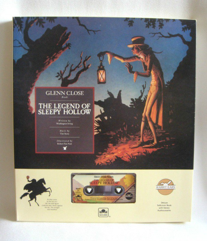 Glenn Close Narrates The Legend Of Sleepy Hollow Audio Cassette And Book