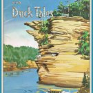 1959 Old Trails & Duck Tales Amphibian Adventures Wisconsin Dells Softcover Book