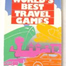 The World's Best Travel Games Sheila Anne Barry Vintage Softcover Book 1987