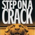Step On A Crack James Patterson Michael Ledwidge Hardcover Book Large Print Edition