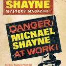 Mike Shayne Mystery Magazine Danger Michael Shayne At Work April 1972 Softcover Book Vintage