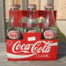 Coke 6 Pack 1993 Coca Cola Collectible Bottles in Carton Grand Canyon Railway