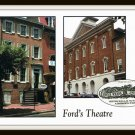 Vintage Postcard Ford's Theatre And House Where Lincoln Died