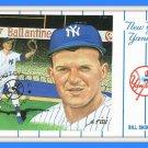 NY Yankees Bill Skowron Postcard #3 Susan Rini Series 1961 Baseball