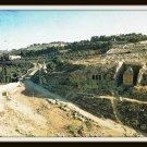 Vintage Postcard Jerusalem Kidron Valley Israel 1960s