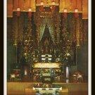 Vintage Postcard Sanctuary Soto Zen Temple Buddhist Honolulu Hawaii 1950's