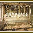 Vintage Postcard Jerusalem Church Of The Holy Sepulchre Stone Of Unction Israel 1950s