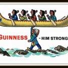 1960's Vintage Postcard Dublin Ireland Guinness