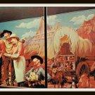 Vintage 1960s Postcard The Chuck Wagon 4 At Wall Drug Badland South Dakota