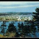 Vintage Postcard Mahone Bay Nova Scotia Canada 1950s